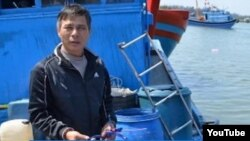 Ông Võ Văn Lựu, thuyền trưởng tàu mang biển số QNg 90479ts bị tàu của Trung Quốc có trang bị võ trang tấn công chiều ngày ngày 1 tháng 3, 2014