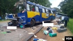 About 20 Zimbabweans have reportedly died in a road traffic accident involving two buses along the Harare-Nyamapanda highway. (Photo: Arthur Chigoriwa)