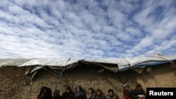 Afghan Refugees Face Cold Weather Conditions