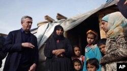 Сирійські біженці в Лівані