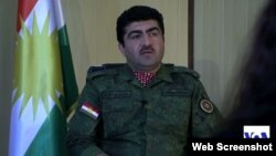 Jenderal Sirwan Barzani, komandan pasukan Kurdi (Peshmerga) di Irak (foto: dok).