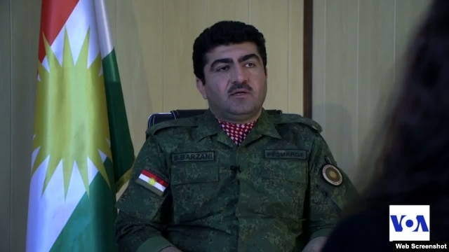 Maj. Gen. Sirwan Barzani