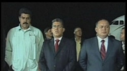 2012-03-17 美國之音視頻新聞: 查韋斯手術後返回委內瑞拉