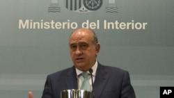 Bộ trưởng Nội vụ Tây Ban Nha Jorge Fernandez Diaz.