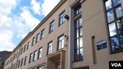 Здание Англо-американской школы в Санкт- Петербурге