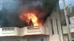 活动分子:叙反叛力量袭击军方大楼