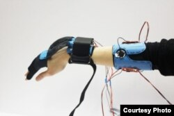 A new device called Vigor could help people with muscle-weakening diseases, such as muscular dystrophy, complete movements such as bending their wrists.