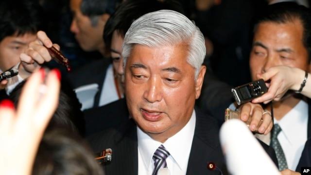 Bộ trưởng Quốc phòng Nhật Bản Gen Nakatani.
