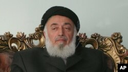 برهان الدین ربانی، رئیس جمهور پیشین افغانستان