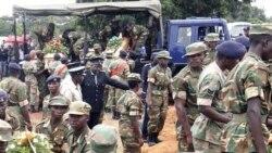 Basoda ba Zambie na Ndola, 11 février 2013.