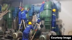 Vashandi vachigadzira Bulawayo Waterworks