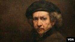 Họa sĩ Rembrandt.