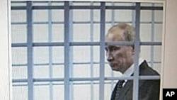 臉書上的普京。照片上文字:24日莫斯科薩哈羅夫大街集會。普京的第三任期,你將是這樣。