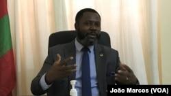 Adriano Sapiñala, secretário provincial da UNITA em Benguela, Angola