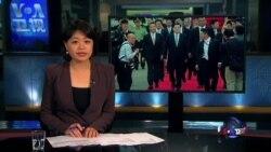 VOA连线:张德江访问香港 英国表达关切