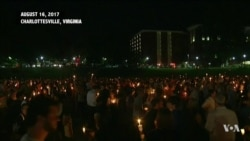 Vigil in Virginia Honors Those Killed at White Supremacist March