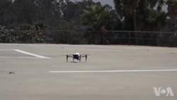 Los Angeles Police Drones
