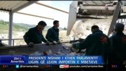 Nishani kthen ligjin e mbetjeve
