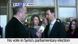 VOA60 World PM - Syrian Elections Denounced as a Sham