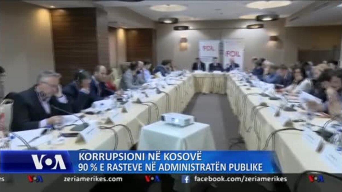 Kosovë: 90 për qind e rasteve të korrupsionit në administratën publike