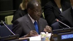 Zimbabwe President Robert Mugabe Speaks At Ebola Conference - PT. 2