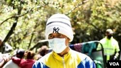 Migrantes venezolanos en campamentos en Bogotá, durante la pandemia. [Foto de archivo]