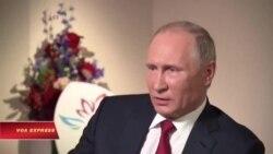 Ông Putin phủ nhận vụ hack xảy ra với ủy ban đảng Dân chủ Mỹ