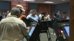 نارتھ کیرولائنا میں قبل از وقت ووٹنگ: وڈیو رپورٹ