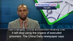China: Not Using Organs from Executed Prisoners