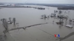 美國中西部洪水氾濫,至少20人死