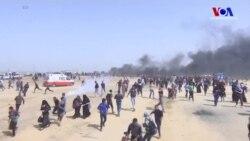Gazze Sınırında Olaylı Cuma