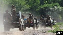 نظامیان پاکستانی در نزدیک مرز افغانستان