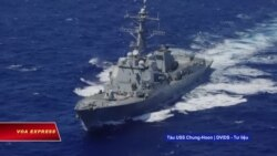 Việt Nam lên tiếng ủng hộ 'quyền tự do hàng hải' ở Biển Đông