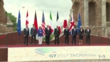 Climate Change, Migration, North Korea, Terrorism Dominate Trump's 1st G-7 Meeting