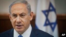 PM Israel Benjamin Netanyahu mengecam kerangka kerja kesepakatan nuklir Iran (foto: dok).