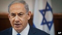 以色列總理內塔尼亞 (資料照片)