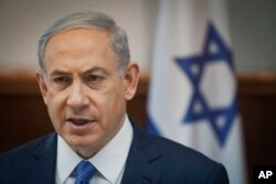 FILE – Israeli Prime Minister Benjamin Netanyahu and his Likud Party have strong Mizrahi backing.