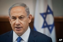 FILE – Israeli Prime Minister Benjamin Netanyahu and his Likud Party have strong Mizrahi backing.