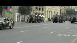 Azərbaycanda hərbi parad