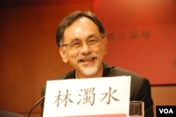 前台灣民進黨立法委員林濁水表示,近年香港面臨嚴重中國化問題,令台灣民眾對北京更不放心