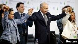 Laurent Fabius'un görevi boyunca gerçekleştirdiği en önemli başarısı, COP 21 BM İklim Anlaşması olarak değerlendiriliyor.