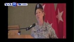 Một căn cứ quân sự Mỹ đón chào chỉ huy nữ đầu tiên