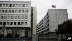 지난 10일 독일주재 북한대사관이 운영하는 '시티 호스텔 베를린'의 모습. 북한은 지난 2004년부터 대사관 소유 건물을 임대하고 있다.