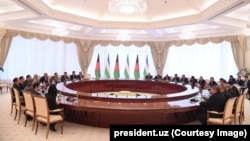 Afg'oniston - O'zbekiston delegatsiyalari uchrashuvi, Toshkent, O'zbekiston