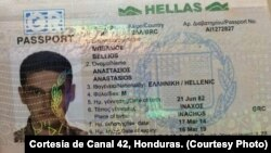 Một trong năm hộ chiếu Hy Lạp bị đánh cắp.