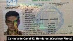 En Honduras cinco sirios intentaron ingresar con pasaportes el pasado 18 de noviembre.