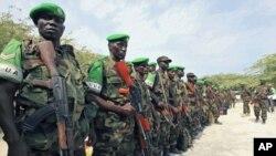 Capacetes azuis da União Africana na Somália - AMISOM