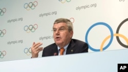 Switzerland IOC Bach