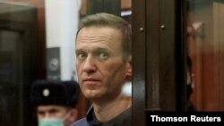 Aleksej Navalni na sudu u Moskvi
