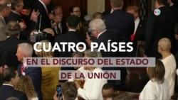 Cuatro países clave en el discurso del Estado de la Unión
